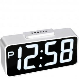 Talos USB Smart Connector Digital Alarm Clock 22cm