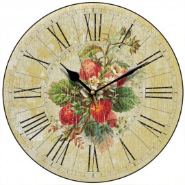 Strawberry Field Wall Clock 28.5cm