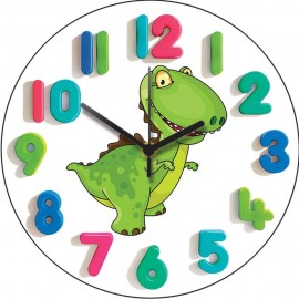 T-Rex Junior Wall Clock 28.5cm