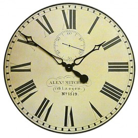 Caledonian Railway Wall Clock 36cm or 49cm