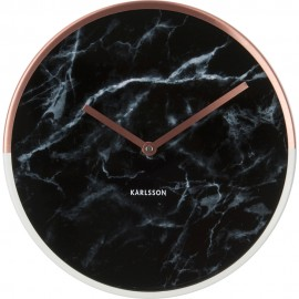 Marble Delight Copper Wall Clock 30cm