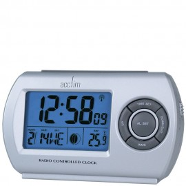 Denio Radio Controlled Alarm Clock 11cm
