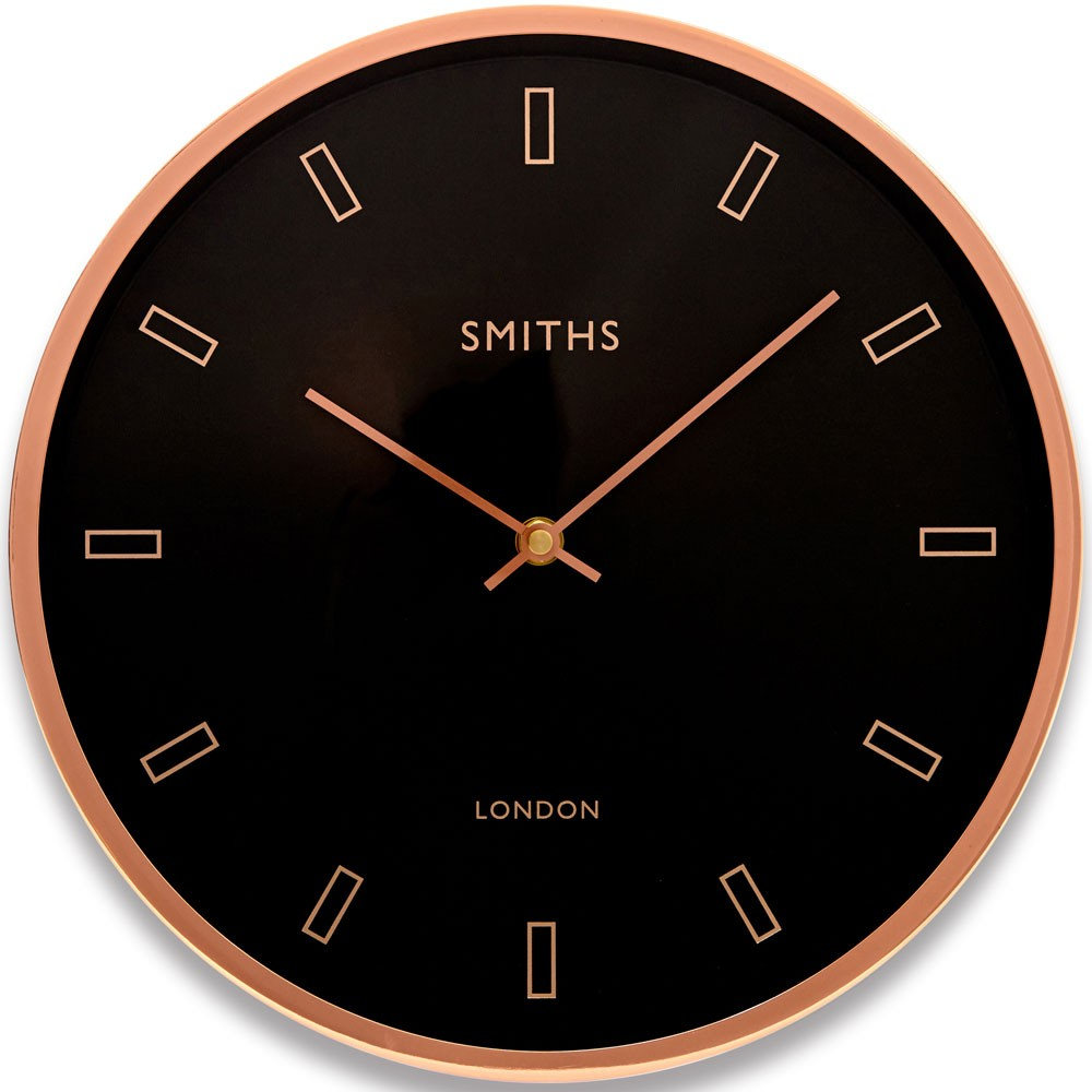 Firecrest Rose Gold Wall Clock 30cm