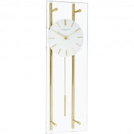 Glass Pendulum Clock 55cm