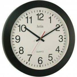 Controller Black Wall Clock 35.5cm