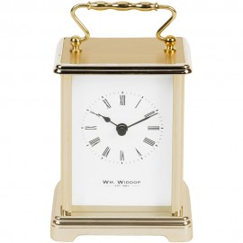 Carriage Clock - White dial 9cm