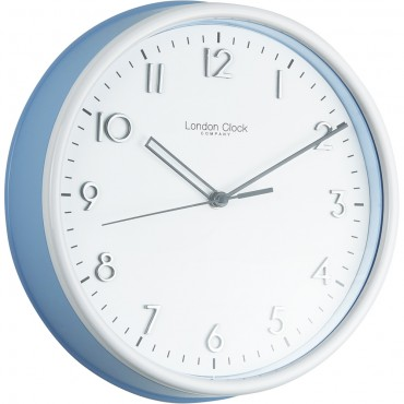 Blue Kitchen Wall Clock 25.5cm