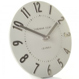 Mulberry Silver Cloud Mantel Clock 15cm
