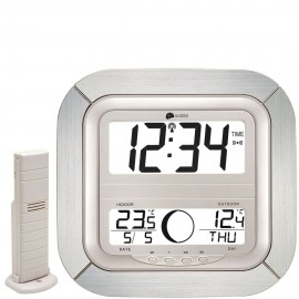 La Crosse Radio Controlled Moonphase Wall Clock 26cm
