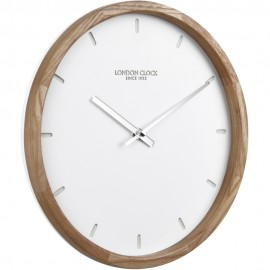 Klokke Wall Clock Wood 25cm