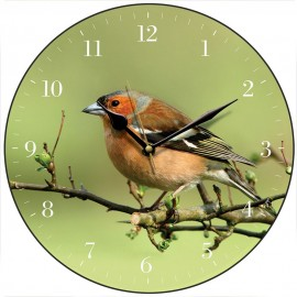 Chaffinch Wall Clock 28.5cm