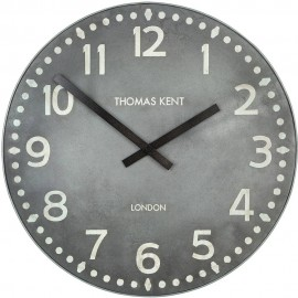 Wharf Lead Wall Clock 38cm