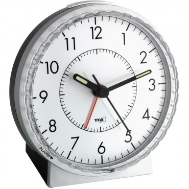 Alarm Clock With Twist-Set Face 11cm