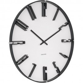Sentient White Wall Clock 40cm