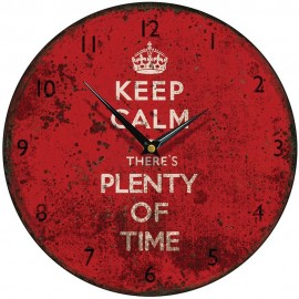Keep Calm Wall Clock 28.5cm