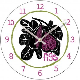 Perkins & Morely Tooty Frooty Fig Wall Clock 28.5cm