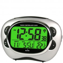 Pulse Radio Controlled Smartlite Alarm Clock 13cm