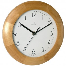 Epsilon Wooden Wall Clock 23cm