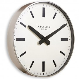 London Metallic Case Wall Clock 40cm