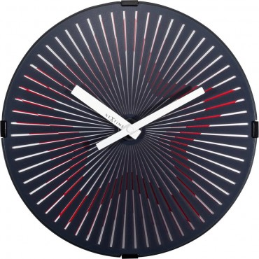 Star Moving Wall Clock 30.5cm