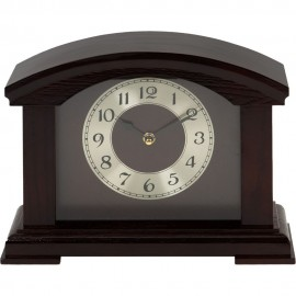 Arched Wooden Mantel Clock 20.8cm