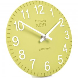 Cotswold Lemonade Mantel Clock 15cm