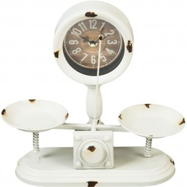 Mantel Clock Counter Weighing Scale 28cm