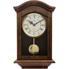 Thorncroft Radio Controlled Chiming Pendulum Clock 47cm