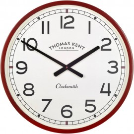 Clocksmith Red Wall Clock 51cm