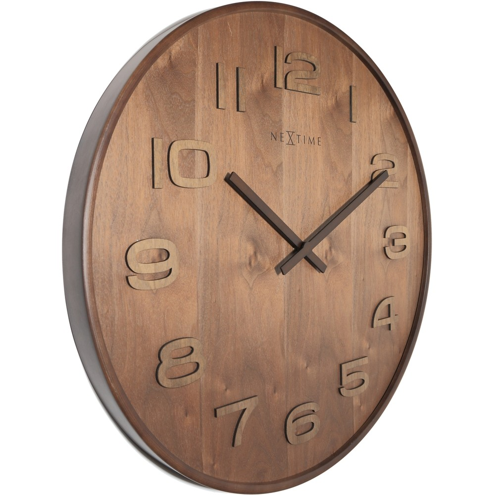 Wood wood wall clock 35cm - Mondaine wall clock cm ...