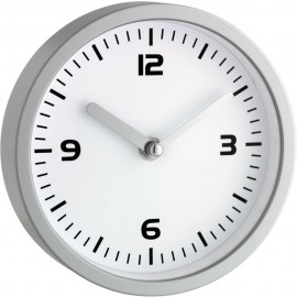 Bathroom Wall Clock With Suction Pads 16.5cm