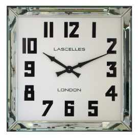 Manhatten Mirrored Wall Clock 60cm