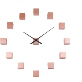 DIY Cubic Copper Wall Clock