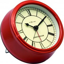 Amsterdam Table Clock With Alarm 11cm