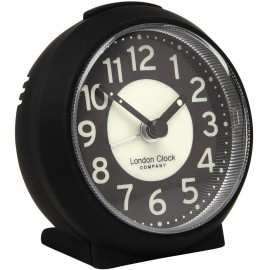 Small Black Alarm Clock 8cm