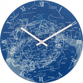 Milky Way Glow In The Dark Wall Clock 30cm