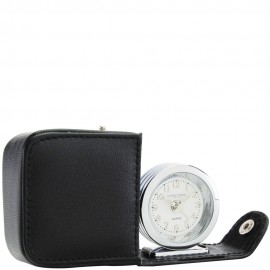 Roll Out Alarm Clock In Black Travel Case 6.5cm