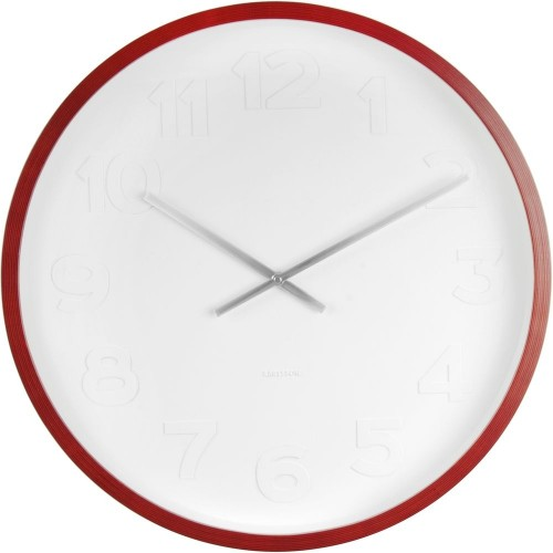 Mr. White Numbers Wall Clock 37.5cm