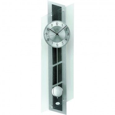 Glass Pendulum Clock 85cm