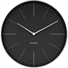 Normann Black Wall Clock 37.5cm