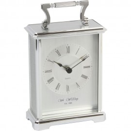 Carriage Clock - Silver 10cm