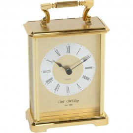 Carriage Clock - Gilt 10cm