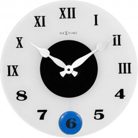 Milano Wall Clock With 3 Interchangeable Pendulums 35cm
