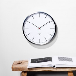 White Index Wall Clock 25cm, 35cm or 45cm