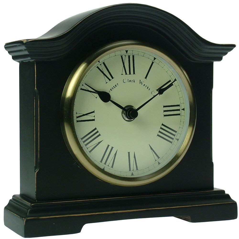 Black mantel clocks uk