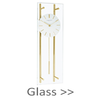 Glass Pendulum Clocks