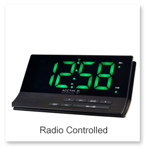 Radio Controlled Alarm Clocks