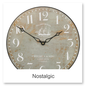 Retro Nostalgic Wall Clocks