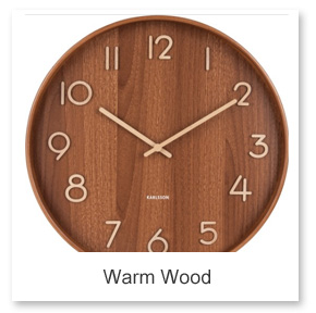 Modern Wooden Wall Clocks