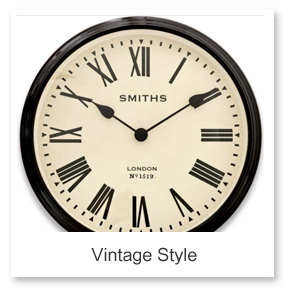 Vintage Modern Wall Clocks